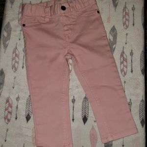 Cat and Jack nwt pink blue jeans 18 months